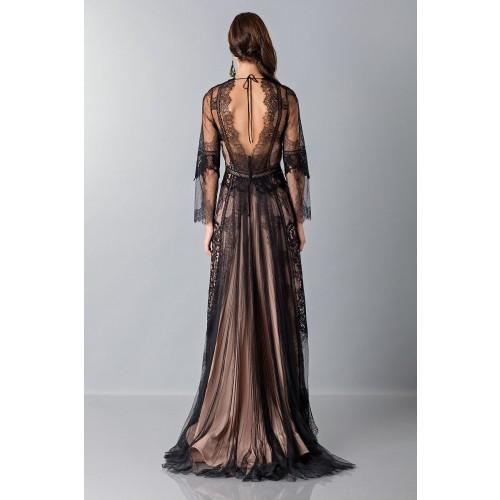 Vendita Abbigliamento Usato FIrmato - Long dress with lace decorations - Alberta Ferretti - Drexcode -7