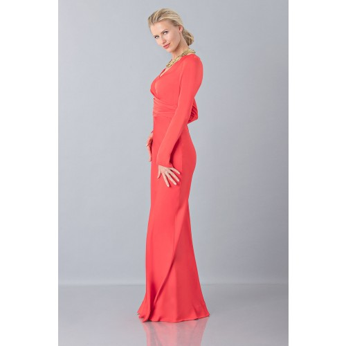 Vendita Abbigliamento Usato FIrmato - Floor-length dress with deep neck - Vionnet - Drexcode -2