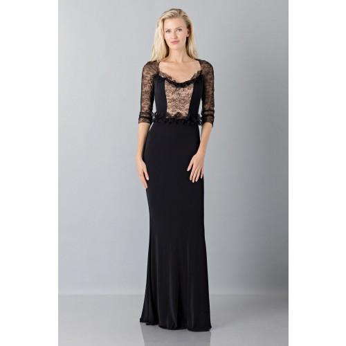 Vendita Abbigliamento Usato FIrmato - Black mermaid dress with lace sleeves - Blumarine - Drexcode -7