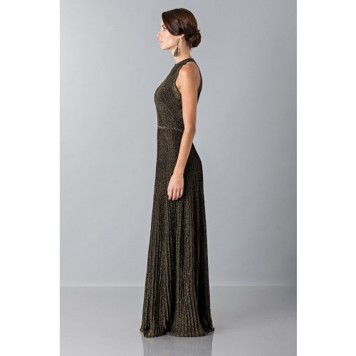 Vendita Abbigliamento Usato FIrmato - Dress with gold textures - Vionnet - Drexcode -7