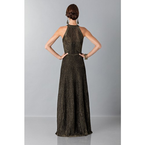 Vendita Abbigliamento Usato FIrmato - Dress with gold textures - Vionnet - Drexcode -1
