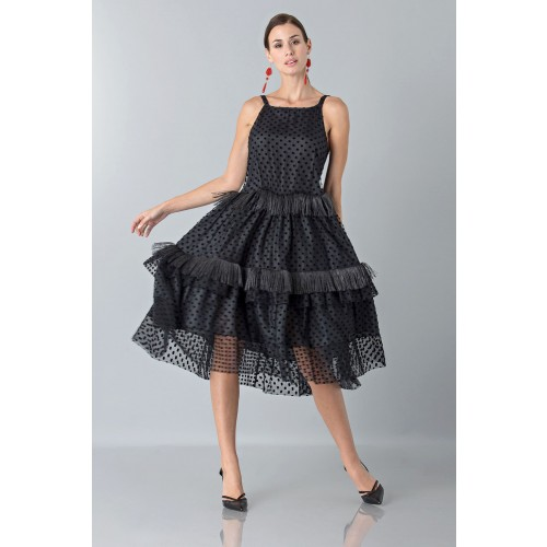 Vendita Abbigliamento Usato FIrmato - Petticoat with feather - Rochas - Drexcode -4