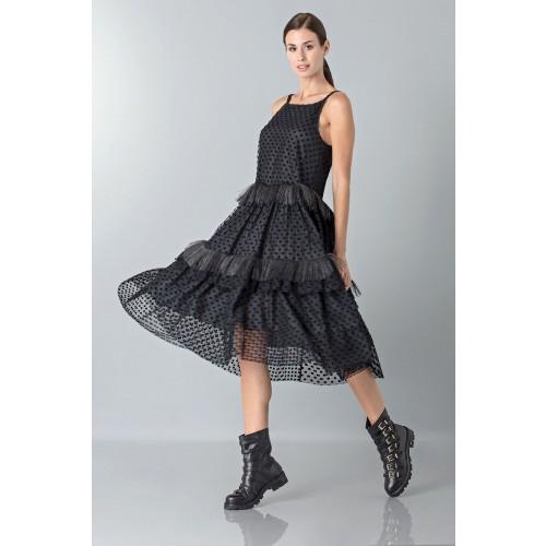 Vendita Abbigliamento Usato FIrmato - Petticoat with feather - Rochas - Drexcode -2