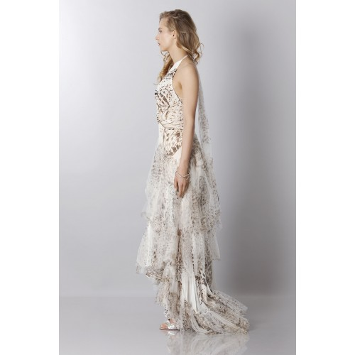 Vendita Abbigliamento Usato FIrmato - Animalier silk dress - Blumarine - Drexcode -6