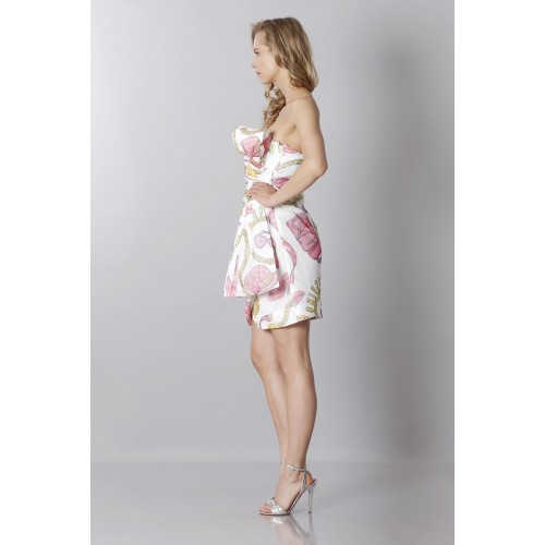 Vendita Abbigliamento Usato FIrmato - Silk printed bustier dress - Moschino - Drexcode -3