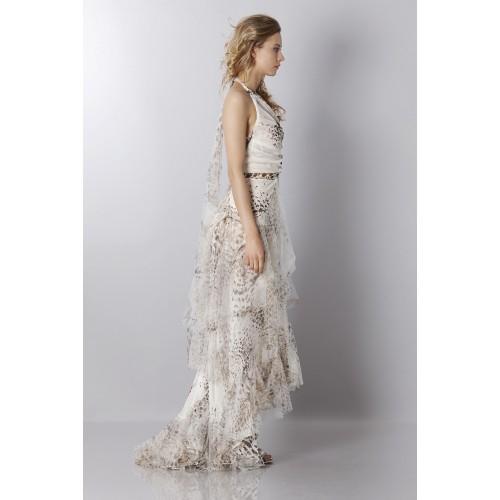 Vendita Abbigliamento Usato FIrmato - Animalier silk dress - Blumarine - Drexcode -8