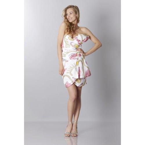 Vendita Abbigliamento Usato FIrmato - Silk printed bustier dress - Moschino - Drexcode -4