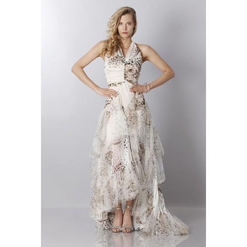 Vendita Abbigliamento Usato FIrmato - Animalier silk dress - Blumarine - Drexcode -5