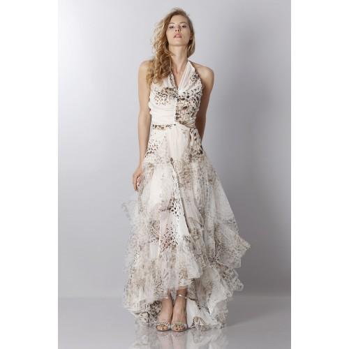 Vendita Abbigliamento Usato FIrmato - Animalier silk dress - Blumarine - Drexcode -9