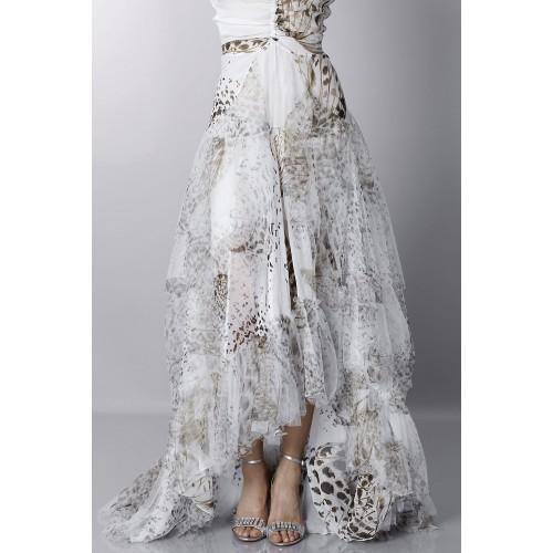 Vendita Abbigliamento Usato FIrmato - Animalier silk dress - Blumarine - Drexcode -4