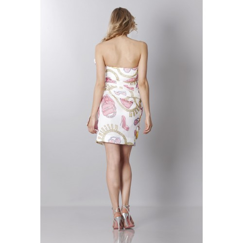 Vendita Abbigliamento Usato FIrmato - Silk printed bustier dress - Moschino - Drexcode -6