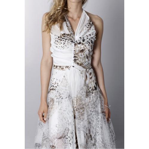 Vendita Abbigliamento Usato FIrmato - Animalier silk dress - Blumarine - Drexcode -2