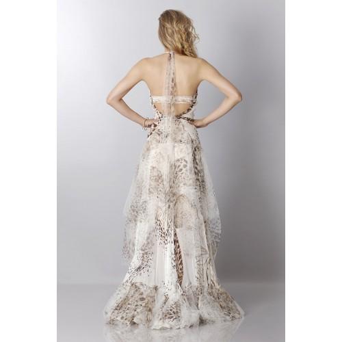 Vendita Abbigliamento Usato FIrmato - Animalier silk dress - Blumarine - Drexcode -3