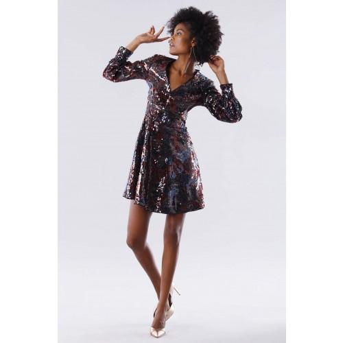 Vendita Abbigliamento Usato FIrmato - Dress in multicolored sequins - Paule Ka - Drexcode -4