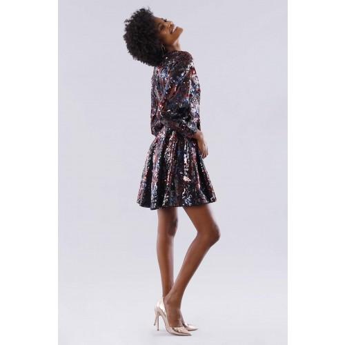 Vendita Abbigliamento Usato FIrmato - Dress in multicolored sequins - Paule Ka - Drexcode -2
