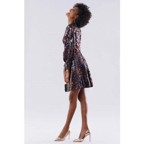Vendita Abbigliamento Usato FIrmato - Dress in multicolored sequins - Paule Ka - Drexcode -3