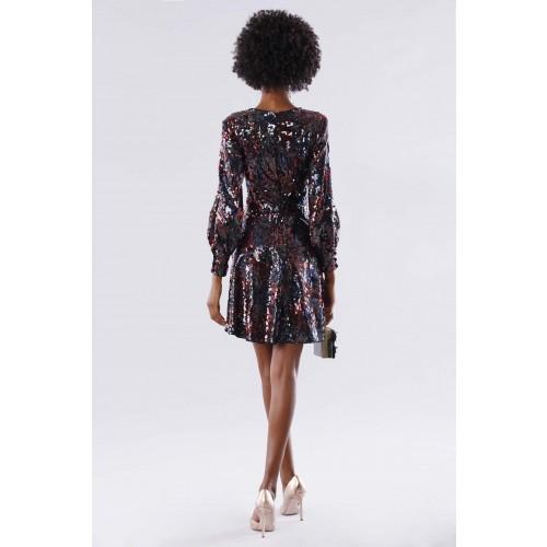 Vendita Abbigliamento Usato FIrmato - Dress in multicolored sequins - Paule Ka - Drexcode -5