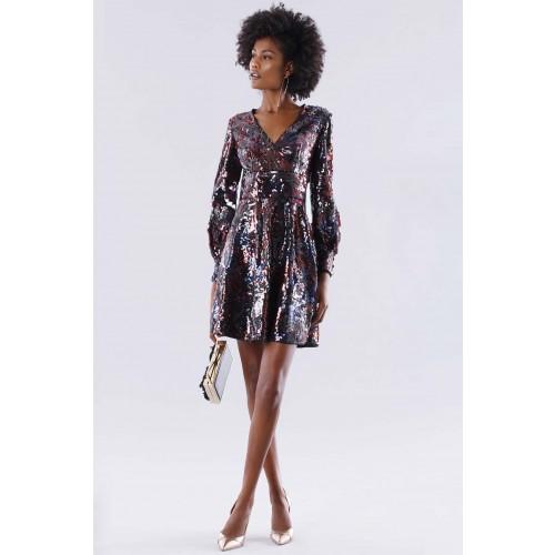 Vendita Abbigliamento Usato FIrmato - Dress in multicolored sequins - Paule Ka - Drexcode -1