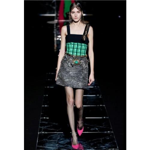 Vendita Abbigliamento Usato FIrmato - Patterned strap dress - Fausto Puglisi - Drexcode -1