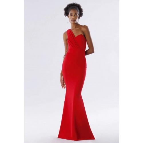Vendita Abbigliamento Usato FIrmato - One-shoulder red mermaid dress - Rhea Costa - Drexcode -3