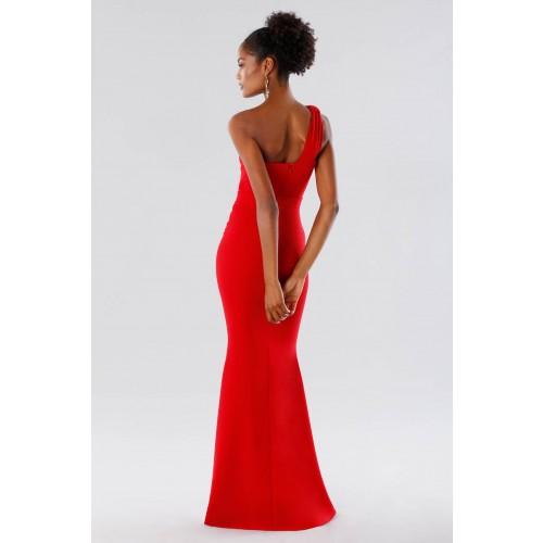 Vendita Abbigliamento Usato FIrmato - One-shoulder red mermaid dress - Rhea Costa - Drexcode -1