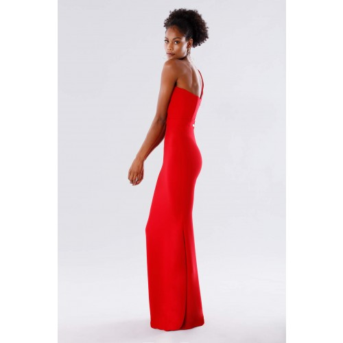 Vendita Abbigliamento Usato FIrmato - One-shoulder red mermaid dress - Rhea Costa - Drexcode -4