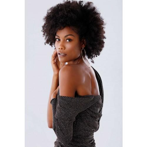 Vendita Abbigliamento Usato FIrmato - Long dress with glitter - Rhea Costa - Drexcode -5