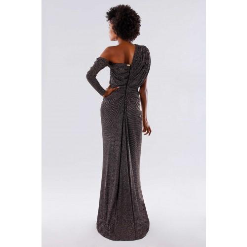 Vendita Abbigliamento Usato FIrmato - Long dress with glitter - Rhea Costa - Drexcode -4