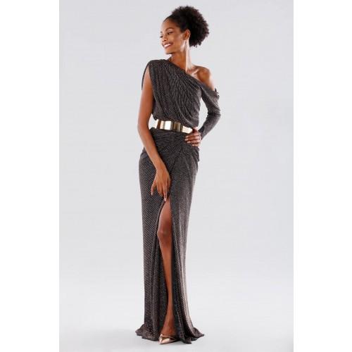 Vendita Abbigliamento Usato FIrmato - Long dress with glitter - Rhea Costa - Drexcode -6