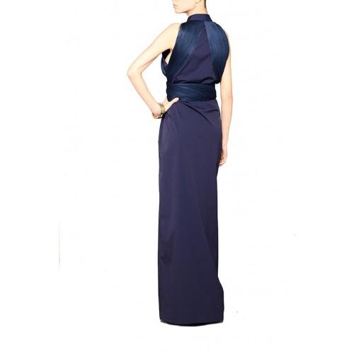 Vendita Abbigliamento Usato FIrmato - Shirtdress with draped silk tulle - Vionnet - Drexcode -3