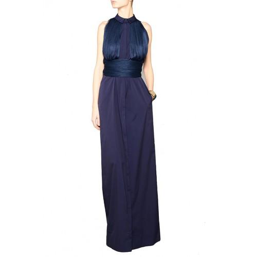 Vendita Abbigliamento Usato FIrmato - Shirtdress with draped silk tulle - Vionnet - Drexcode -1