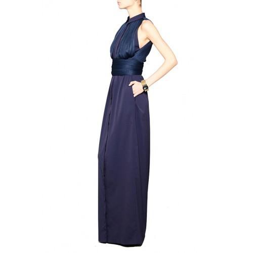 Vendita Abbigliamento Usato FIrmato - Shirtdress with draped silk tulle - Vionnet - Drexcode -4