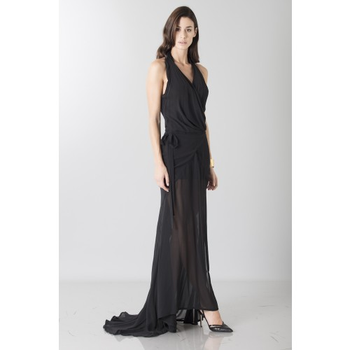 Vendita Abbigliamento Usato FIrmato - Dress with neck fastening - Vivienne Westwood - Drexcode -6