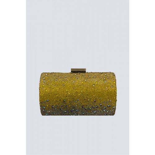 Vendita Abbigliamento Usato FIrmato - Clutch degrade citrine - Anna Cecere - Drexcode -1