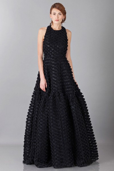Pop-corn black dress