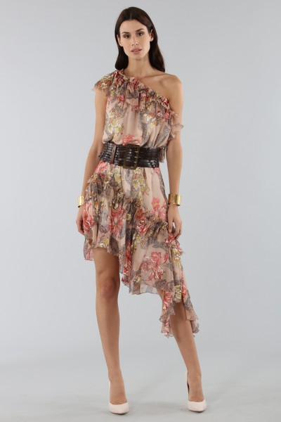 One-shoulder dress