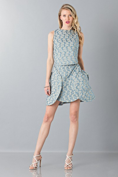 Formal patterned gown