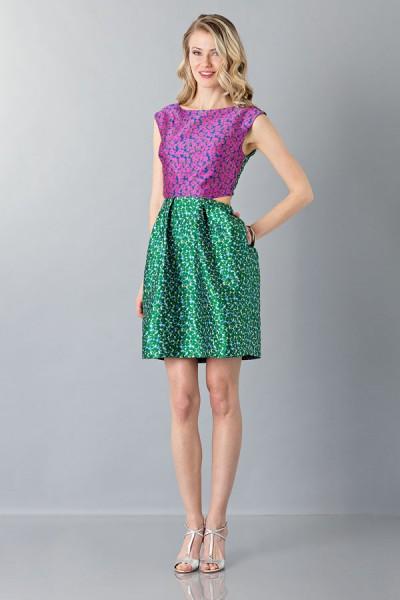 Floreal patterned dress