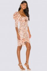 Drexcode - Aster Floral Midi Dress - For Love and Lemons - Vendita - 2