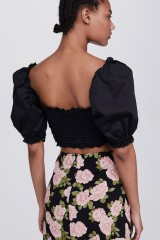Drexcode - Sage Lace Up Crop Top - For Love and Lemons - Vendita - 3