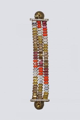 Bracciale con cristalli multicolore - Tataborello - Vendita Drexcode - 1