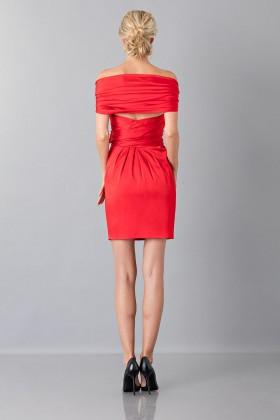 Mini abito in satin - Moschino - Vendita Drexcode - 2