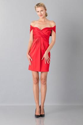 Mini abito in satin - Moschino - Vendita Drexcode - 1