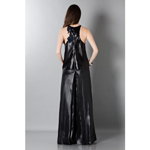 Vendita Abbigliamento Usato FIrmato - Pantalone in pelle - Blumarine - Drexcode -3