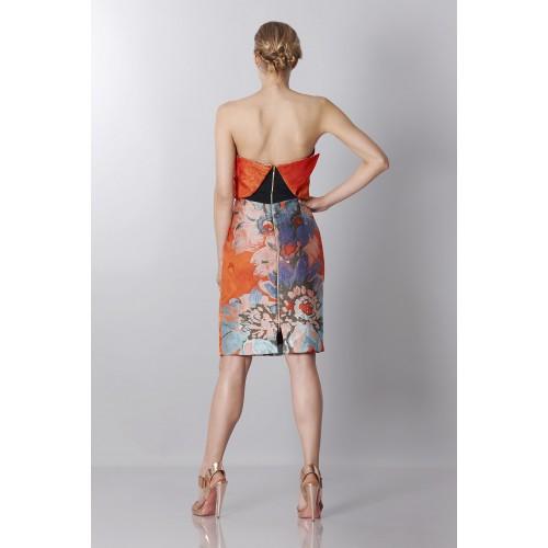 Vendita Abbigliamento Usato FIrmato - Bustier in jacquard floreale - Antonio Berardi - Drexcode -6