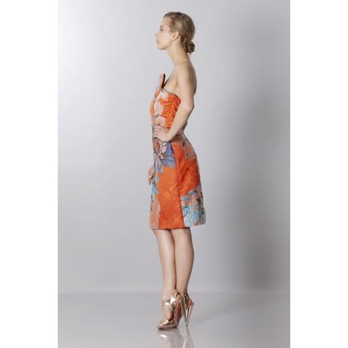 Vendita Abbigliamento Usato FIrmato - Bustier in jacquard floreale - Antonio Berardi - Drexcode -3