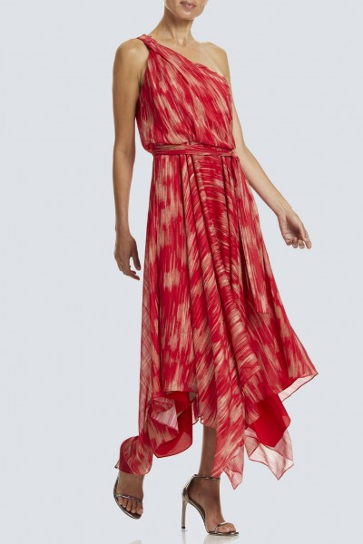 Braided Strap Gown