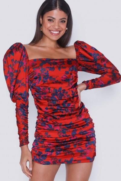 Monet Floral Mini Dress