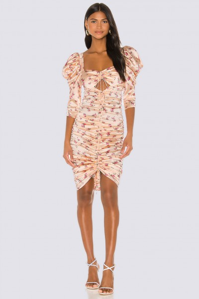 Aster Floral Midi Dress