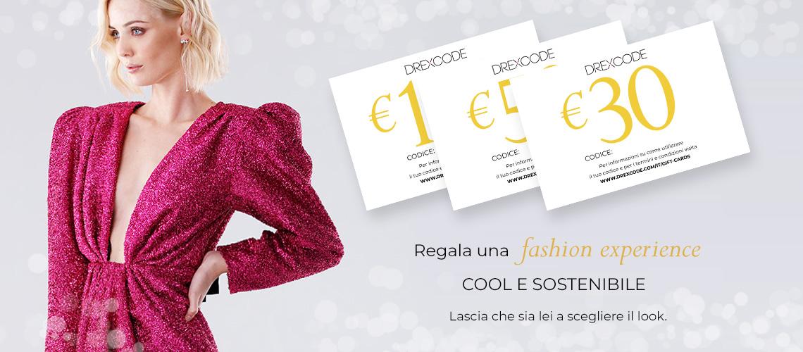 Drexcode Gift Card - Il regalo più glamour dell'anno